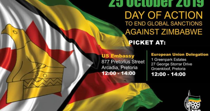 End neo-colonialism, support Zimbabwe!