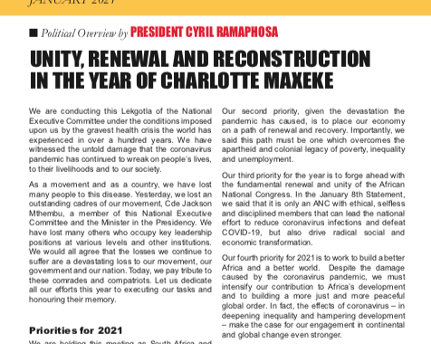 NEC Lekgotla Bulletin January 2021 final